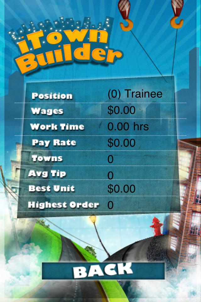Screenshot iTown Builder